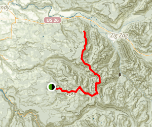 McIntyre Ridge Trail Map