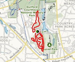 Country Park Trail Map