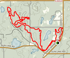 Yankee Springs Recreation Area Trail Map