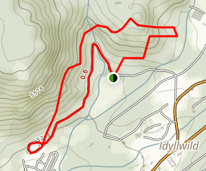 Idyllwild Park Trail Map