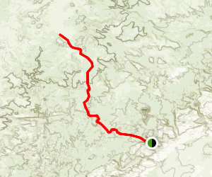 Temple Mountain Trail Map