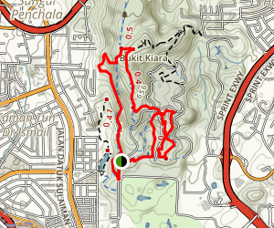 Forest Research Institute Malaysia Trail Map