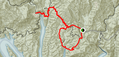 Goldmine Loop Trail Map