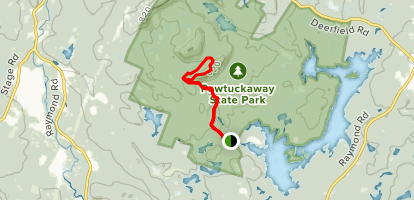 South Mountain Lookout Tower Trail Map