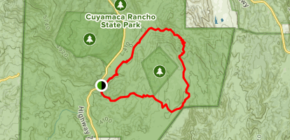 Harvey Moore Trail Map