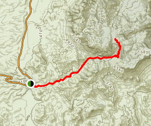 Blue Creek Trail Map