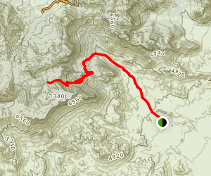 Juniper Canyon Trail Map