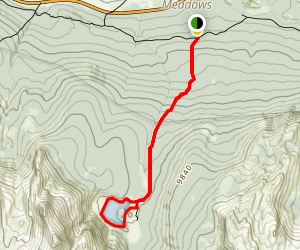 Elizabeth Lake Trail Map