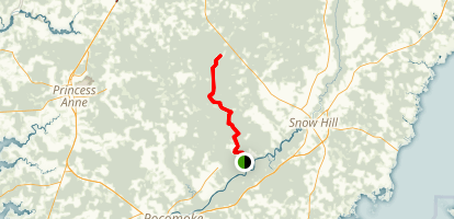 Algonquin Cross County Trail Map