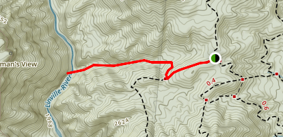 Spence Ridge Trail Map
