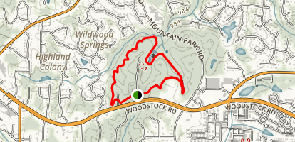 Leita Thompson Memorial Park Trail Map