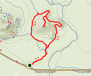 Apache Wash Sidewinder Loop Trail Map