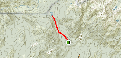 Chiquito Pass Trail Map