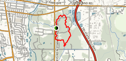 Old School Forest Preserve Trail Map