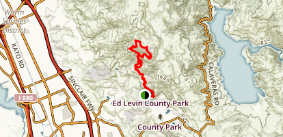 Ed R Levin County Park Trail Map