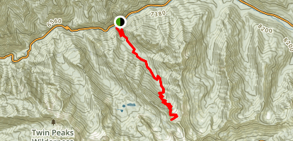 Mineral Fork Trail Map