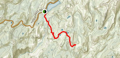 Sunrise Lakes Trail Map