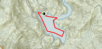 Mammoth Pool Reservoir Map