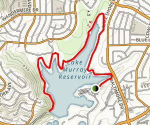 Lake Murray Trail Map