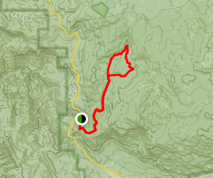 Alder Creek Loop Trail Map