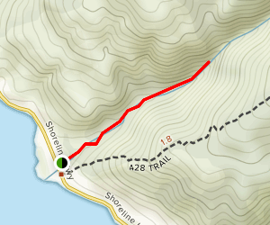 Morses Gulch Trail Map