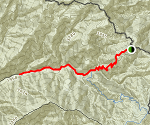 West Horsethief Trail Map