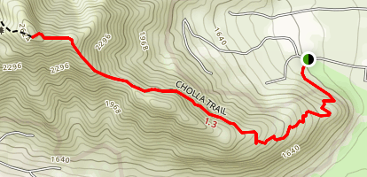 Cholla Trail  Map