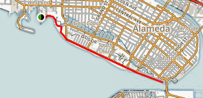 Crab Cove to Roemer Bird Sanctuary Trail Map