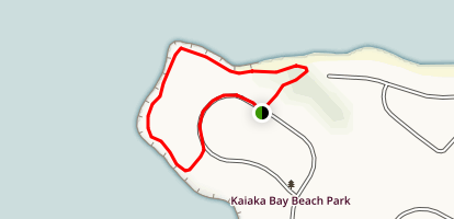 Kaiaka Bay Trail Map