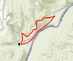 Big Bend Hot Springs Trail Map
