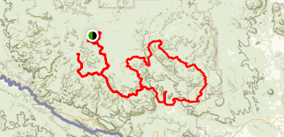 Big Bend Ranch Trails Map