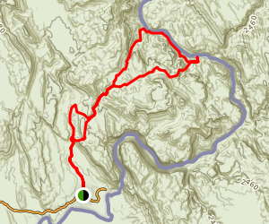 Marufo Vega Trail Map