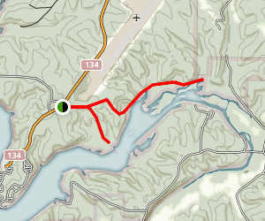 Squaw's Revenge Trail Map