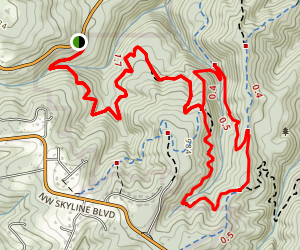 Newberry Loop Trail Map