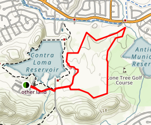 Old Ranch Loop Trail Map