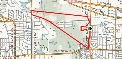 Great Western Triangle Trail Map