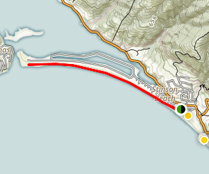 Stinson Beach Trail Map