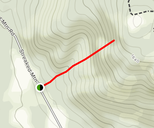 Streaked Mountain Trail Map