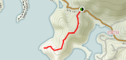 Tektite Trail Map