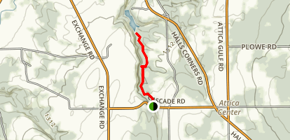 Cascades of Attica (5 Falls) Trail                         Map