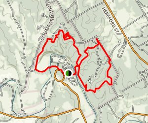 Cedar Brake Trail Map