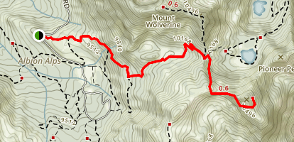 Sunset Peak Trail Map