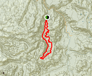 Fish Creek Mountain Trail Map