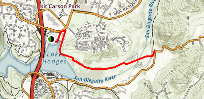 Mule Hill Trail Map