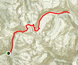 California Gulch Trail Map