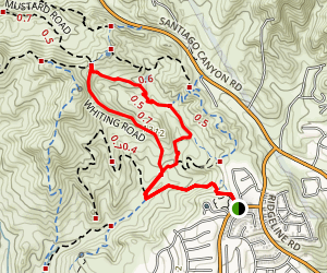 Cactus-Sleepy Hollow Loop Trail Map