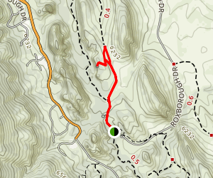 Lyons Overlook Trail Map
