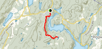Horse Pond Mountain Trail Map