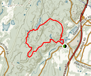 Ramapo Schuber and Ridge Loop Trail Map