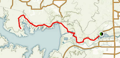 Pueblo Reservoir and Greenway Trail Map